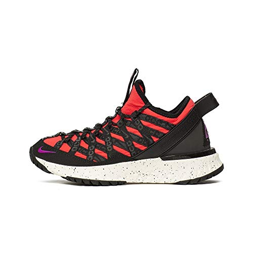 Nike ACG React Terra Gobe Uomo Trainers BV6344 Sneakers Scarpe (UK 7 US 8 EU 41, Bright Crimson Vivid Purple 600)