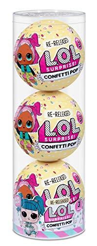 L.O.L. Surprise! Confetti Pop 3 Pack Glamstronaut – 3 Re-Released...
