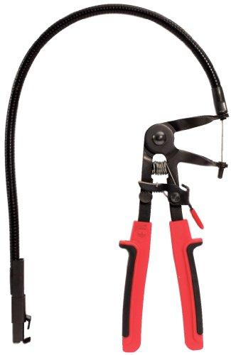 KS Tools 115.1190 Federbandschellen-Zange mit Schwanenhals