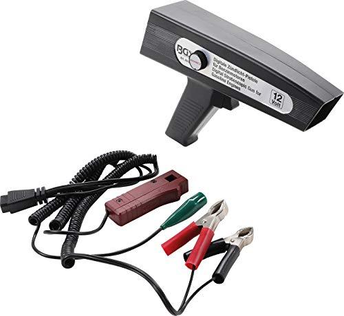 BGS 40106 | Digitale Zündlicht-Pistole | für Benzinmotoren | Zündzeitpunkt-Einstellpistole | Stroboskoplampe