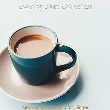 Alto Saxophone Solo for Dinner