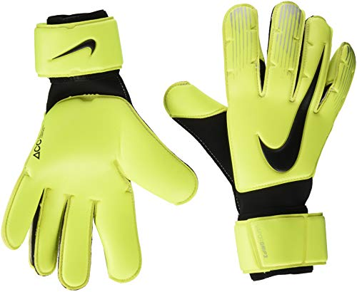 Nike Erwachsene Vapor Grip3 Torwarthandschuhe,gelb (Volt/Black/Black), 9