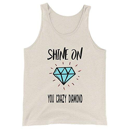 Ground 29 Shine On You Crazy Diamond Unisex Tank Top (Small)