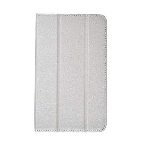 ZJYSM Funda de Cuero de PU Pliegue Cubierta para 8 Pulgadas Onda V80 SE Tablet (Color : White)