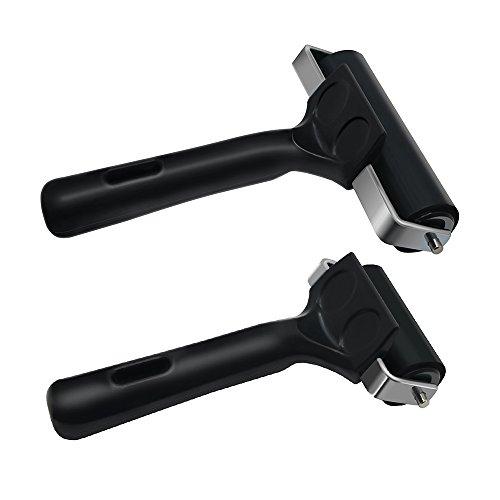 Mylifeunit Soft rubber Brayer roller sfondo per incisione, confezione da 2