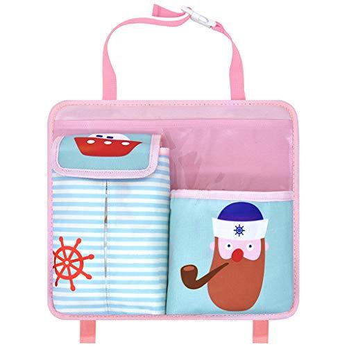 Liutao Auto Boot Tassen Leuke Auto Stoel Terug Opslag Tassen Hangende Auto Organizer Zakken Baby benodigdheden Opbergtas voor Kinderen Auto Boot Tassen