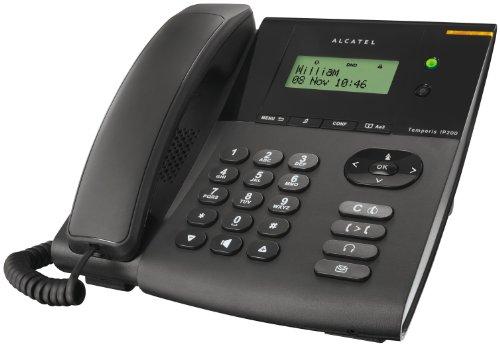 Alcatel Temporis IP200 - Teléfono VoIP, negro