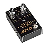 JOYO R-03 UZI Distortion Pedal Guitar Effect Pedal for Heavy Metal Music, With BIAS Knob, True Bypass, Guitar Accessories