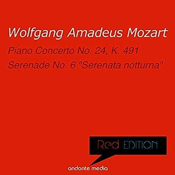 """Red Edition - Mozart: Piano Concerto No. 24 & Serenade No. 6 """"Serenata notturna"""""""