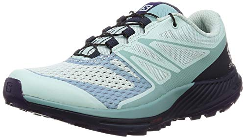 Salomon Sense Escape 2 W, Zapatillas de Trail Running para Mujer, Azul (Icy Morn/Navy Blazer/Parachute Purple), 40 EU
