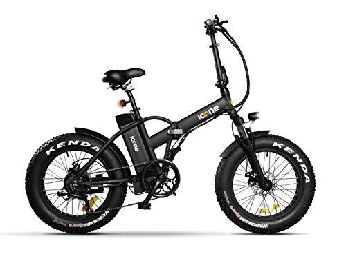 Icon.e Bici Elettrica Pieghevole Pure 250W Black