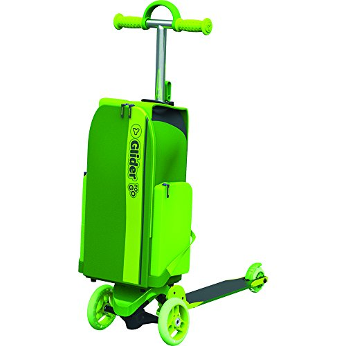 Scooter Backpack Suitcase Y Glider to-Go Kids Ride On Cabin Travel Luggage