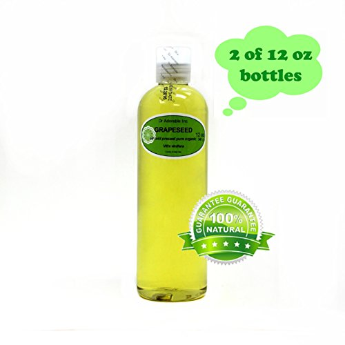 24 Oz Organic Grapeseed Oil