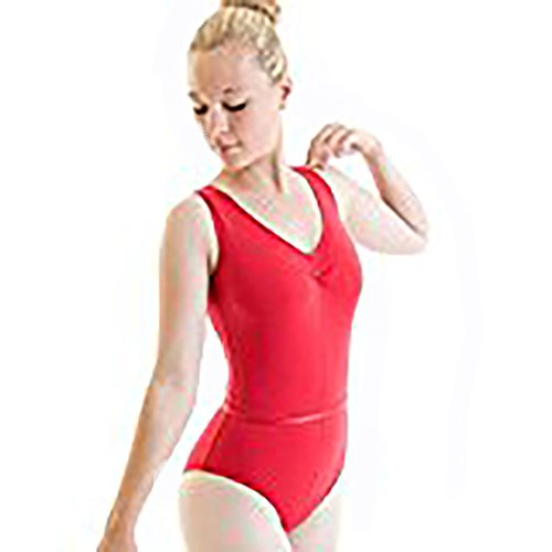 Freed of London Rad régulation Ballet Justaucorps Faith Rouge Taille 4
