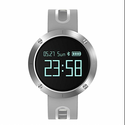 Bluetooth Smartwatch Montre Connectée Fitness Tracker Bracelets de Montres,Heart Rate Sensor,Pisteur fitness,Cardiofréquencemètres Compatible avec pour Android iOS Smart Phone Samsung
