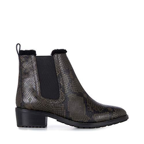 EMU Australia Ellin Snakeskin Womens Deluxe Wool Waterproof Boots Size 9 EMU Boots