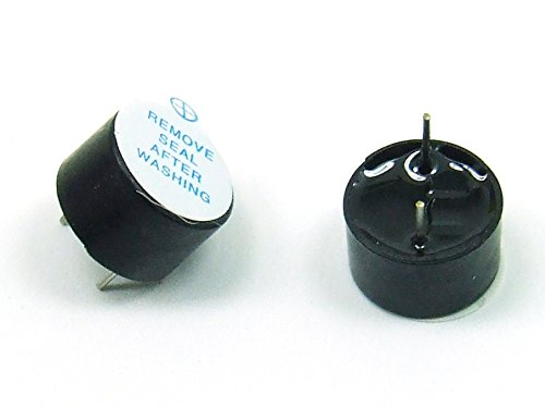 Piezas 2 x 5V / 12mm Zumbador Buzzer Beeper Arduino PCB #A125