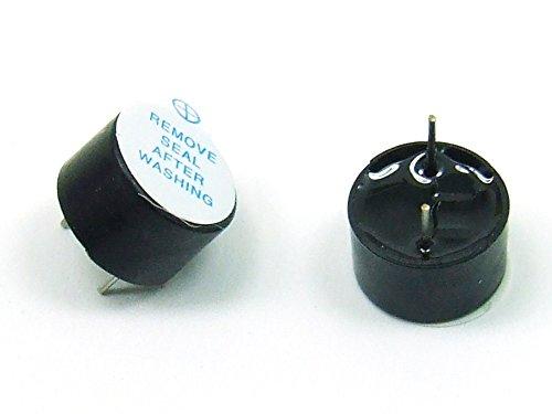 Piezas 2 x 5V / 12mm Zumbador Buzzer Beeper Arduino