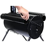 TMS Portable Military Camping Wood Stove Tent Heater Cot Camp Ice-fishing Cooking Rv
