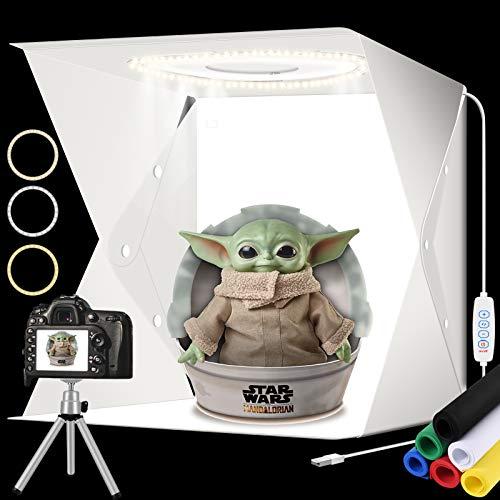 Caja de luz para fotografía de 40 cm con Soporte para trípode...