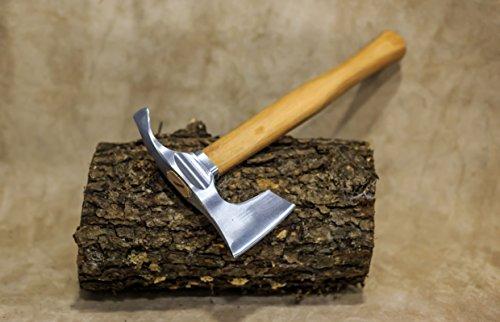 mapsyst Bärtige Beil/Axt kombiniert mit gebogenem dechsel Blade - Bowl Makers Tool-Rare!