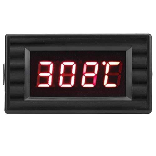 Compteur de température numérique intégré, Installation Haute précision 220 V avec Alimentation 12 V CA DYG-5135 Affichage numérique LED Rouge pour chaudières