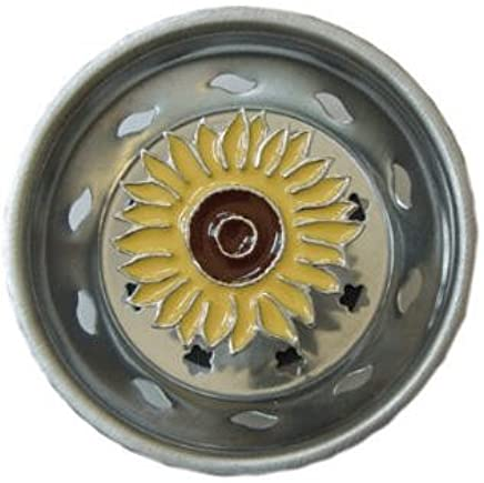 Billy Joe Homewares Sunflower Flower Kitchen Sink Strainer Plug Home Decor