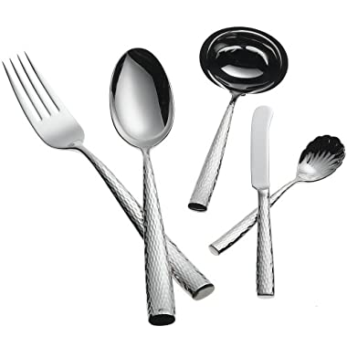 Ricci Anvil 5-Piece Stainless-Steel Flatware Hostess Set