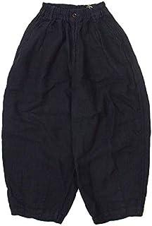HARVESTY ハーベスティ LINEN CIRCUS PANTS リネンサーカスパンツ A11910 1,ブラック(19)