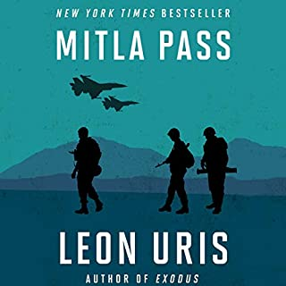Mitla Pass audiobook cover art