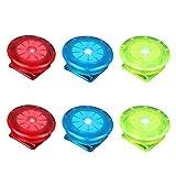 VOSAREA 6 luces LED de seguridad con clip para zapatos, luz intermitente brillante, luz nocturna para corredores, correr, ciclismo, ciclismo, perro a pie