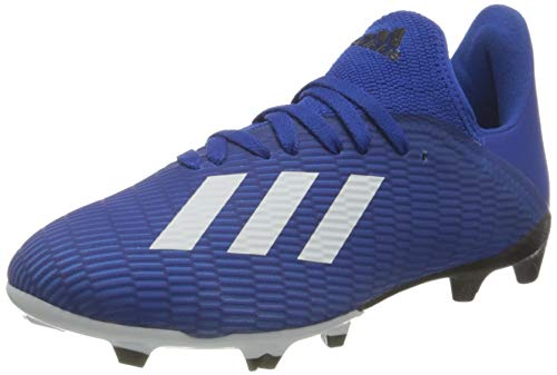 adidas Herren X 19.3 Fg J Kinder Unisex Fußballschuhe, Blau Team Königsblau FTWR White Black Core, 44 EU