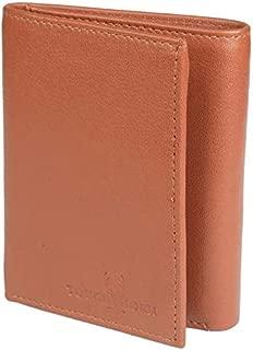 TOUGH HORN Men's Leather Wallet_THTAN00350
