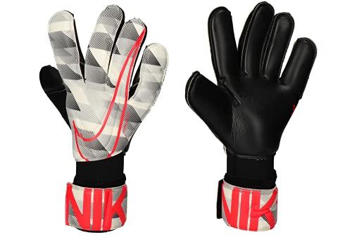 Nike GK Vapor Grip 3 GFX Guanto per Occasioni Speciali, Blanco/Negro/Carmesí Láser, 8 Uomo
