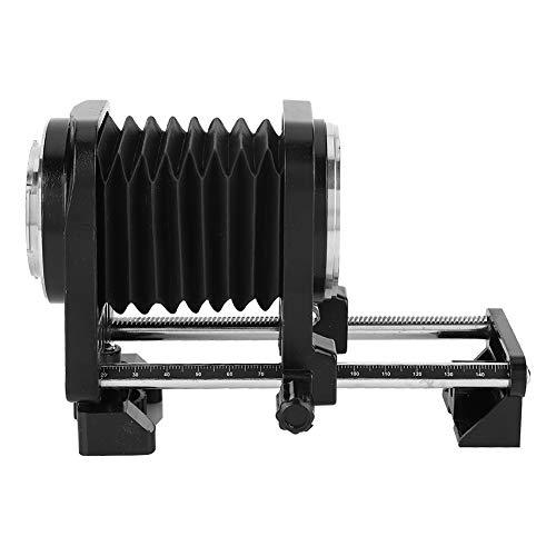 Aleación de Aluminio Negro Conveniencia Profesional Robusto Fuelle Macro para Nikon, Fuelle...