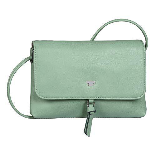 TOM TAILOR Damen Luna Flap bag, Mint, S