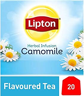 Lipton Herbal Infusion Flavoured Tea Bag - Camomile, 20S