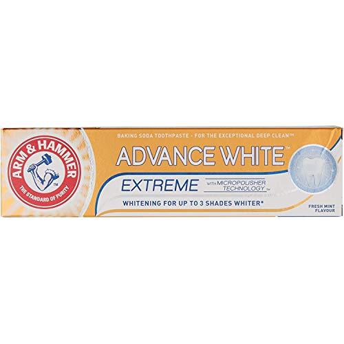 Arm & Hammer Erweiterte Whitening Zahnpasta-Schlauch (75 ml) - Packung mit 2