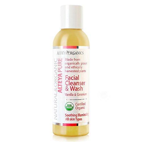 Alteya Organic jabón líquido limpiador facial lavado