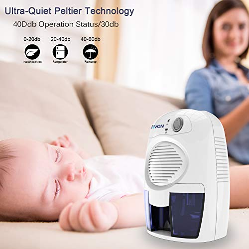 SEAVON Electric Dehumidifiers for Home - Best Dehumidifier for Basement