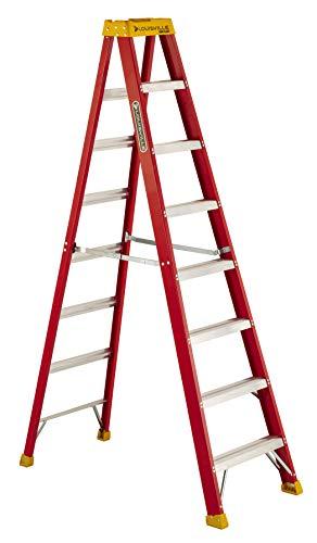 Louisville Ladder L-3016-08 300-Pound Duty Rating Fiberglass Stepladder, 8-Feet New Hampshire