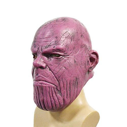 Thanos Maskers Cosplay partij masker Latex Helm Superhero Avengers Basic masker for Halloween kostuum partij decoraties Volledige Head Mask