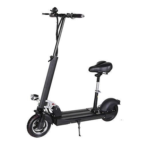AUZZO HOME Patinetes eléctricos Plegables, E-Scooter para Adultos 120 kg Velocidad de...
