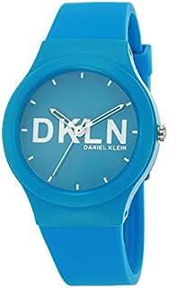 ساعة دانيال كلاين دي كيه ال ان بسوار سيليكون بلاستيكي للنساء - DK.1.12411-5