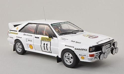 Audi Quattro A2 , No.11,Sampo, Rally Finnland, 1983, Modellauto, Fertigmodell, Sun Star 1 18