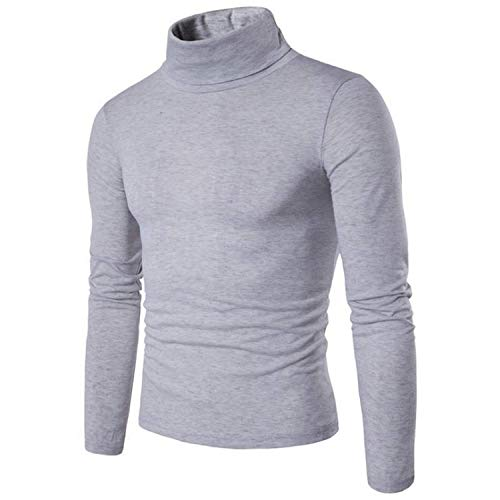 Green HX heren sweater Autumn Winter Men's Turtleneck Sweater Slim Fit Brand Knitted Pullover