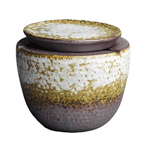 Agal Cenicero Bandeja de Cenizas de cerámica con ceniceros sin Humo para Cigarrillos para Cigarrillos para al Aire Libre al Aire Libre. Cenicero Interior (Color : Green)