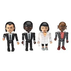Pulp Fiction – The Cast 4 Figuras PVC 8Cm 4