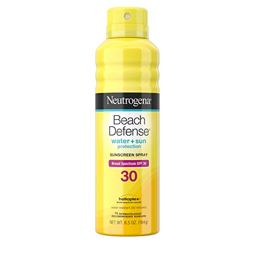 Neutrogena Beach Defense Broad Spectrum Sunscreen Spray, Spf 30, 6.5 Oz by...