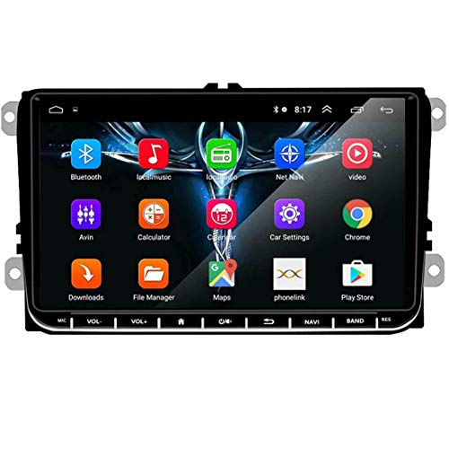 GOFORJUMP 2 DIN Android 9 GPS Navigatore per Auto Radio Stereo Lettore multimediale per Bora Golf VW Polo Volkswagen Passat B6 B7 Touran
